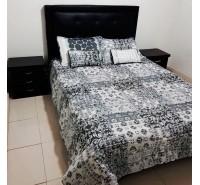 Colcha para cama bordados clásicos