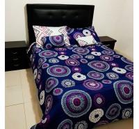 Colcha para cama bordados atrapa sueños