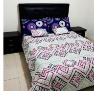 Colcha para cama bordados ensueño